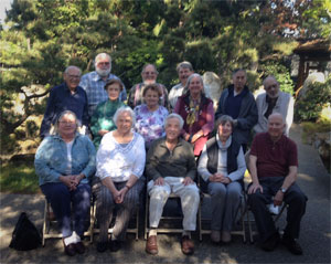 Board of Directors at Japanese Garden